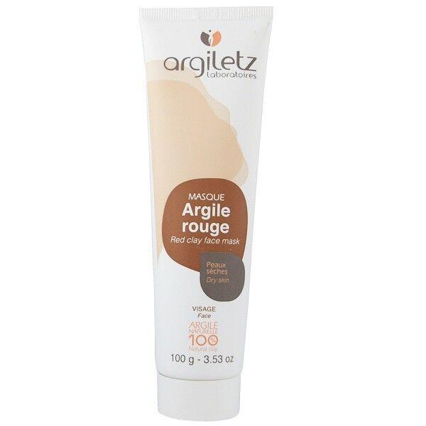 Argiletz Masque Visage Argile Rouge 100g - Peaux sèches et matures