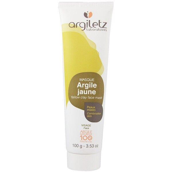 Argiletz Masque Visage Argile Jaune 100g - Peaux mixtes