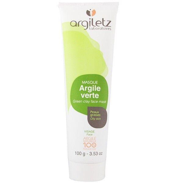 Argiletz Masque Visage Argile Verte 100g - Peaux grasses