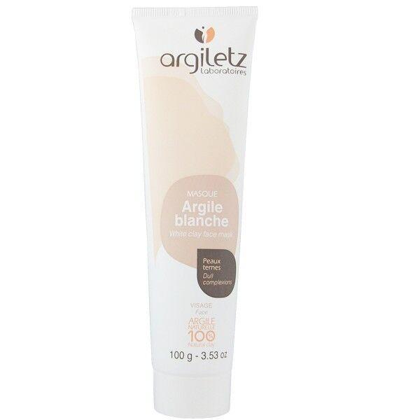 Argiletz Masque Visage Argile Blanche 100g - Peaux ternes et sensibles
