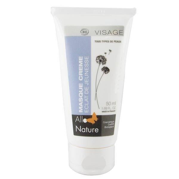 Allo Nature Masque Éclat Jeunesse 50 ml - Hydrate, assouplit et redensifie la peau