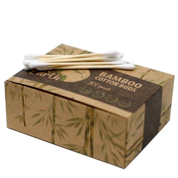 Source Coton-Tige Biodégradables en Bambou et Coton x200