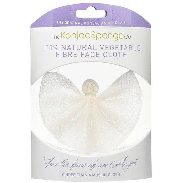 The Konjac Sponge Company Lingette Démaquillante réutilisable - 100% Naturelle
