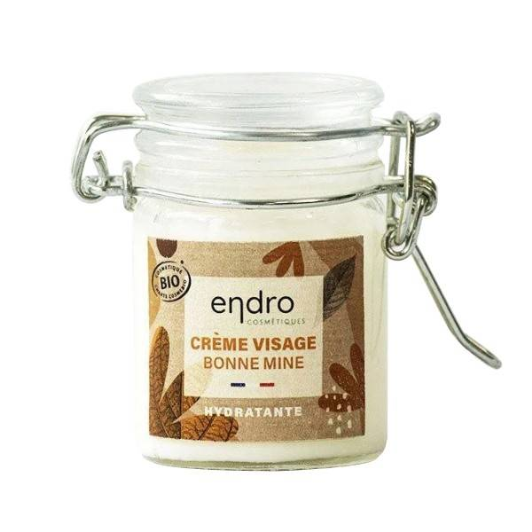 Endro Cosmétiques Crème Visage Bio Hydratante 50 ml - Bonne mine