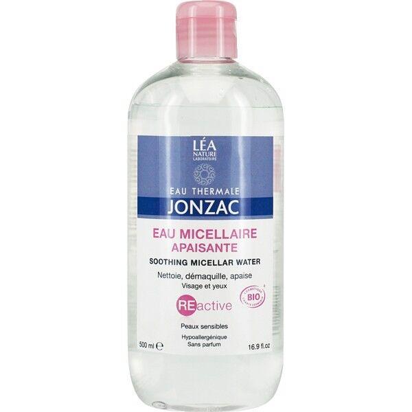 Jonzac - Eau Thermale Eau Micellaire Apaisante 500 ml - Peaux Sensibles