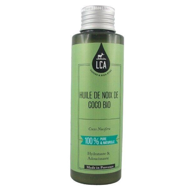 LCA - Combe d'Ase Huile de Noix de Coco Bio Pure - Hydratante