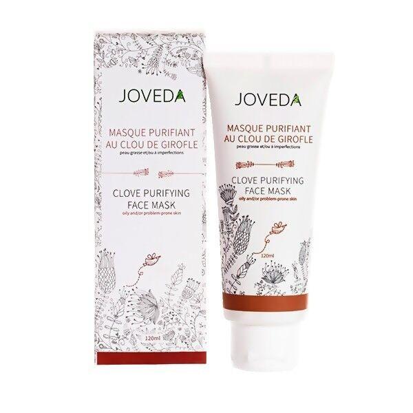 Joveda Masque Purifiant au Clou de Girofle 120 ml - Peaux grasses et à problèmes