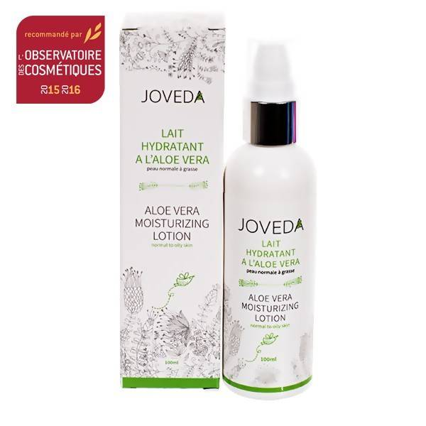 Joveda Lait Hydratant Visage Aloe Vera 100 ml - Régénération des tissus