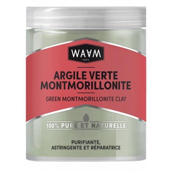 WAAM Cosmetics Argile Verte Montmorillonite 250 gr - Visage, Corps et Cheveux