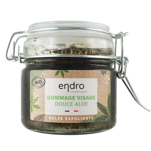 Endro Cosmétiques Gommage visage bio 100 ml - Douce Aloe