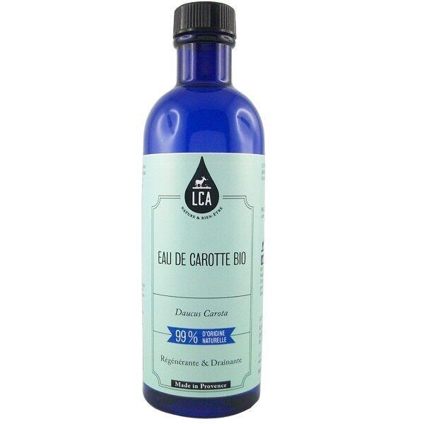 LCA - Combe d'Ase Eau florale de Carotte 200 ml - Régénérante et Draînante