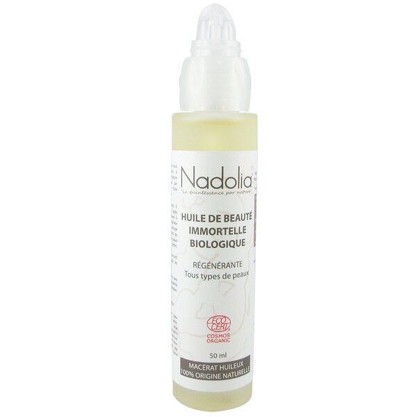 Nadolia Huile d'Immortelle Bio (Hélichryse) 50 ml - Régénérante*