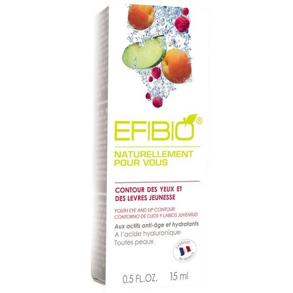 Efibio Contour des yeux et des lèvres 15ml - Jeunesse - Acide Hyaluronique