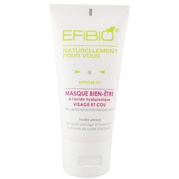 Efibio Masque Bien-Être Visage et Cou 40ml - Adoucissant et Nourrissant
