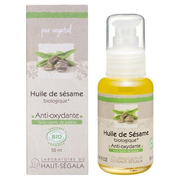 Laboratoire du Haut Ségala Huile de Sésame 50ml - 100% Pure - Croissance et Beauté Cheveux