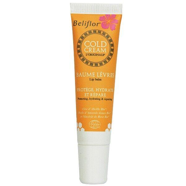 Beliflor Baume à lèvres Cold Cream Bio 12ml – Protège et Hydrate