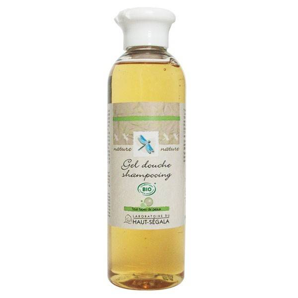 Laboratoire du Haut Ségala Gel Douche - Shampoing à l'extrait de Mandarine