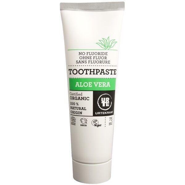 Urtekram Dentifrice à l'Aloe Vera Bio 75 ml - Sans Fluor