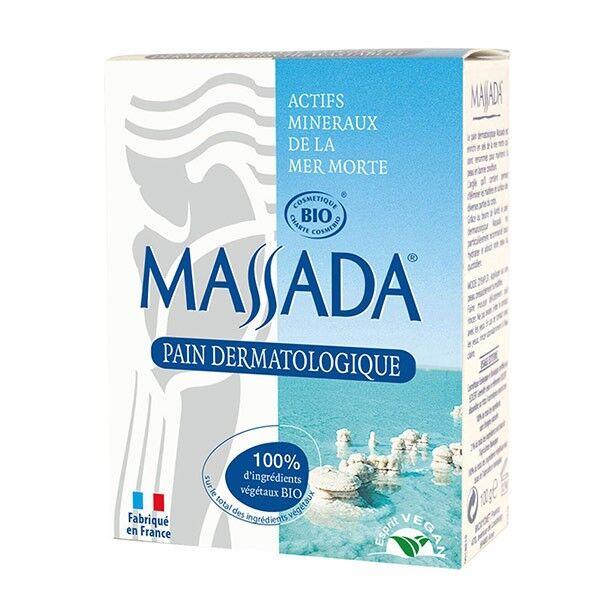 Massada Pain dermatologique Bio 100 gr - Sels de la Mer Morte