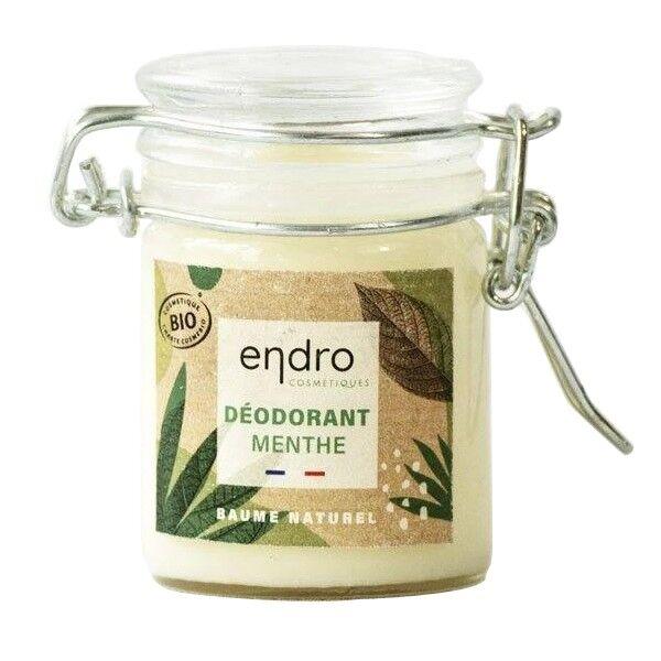 Endro Cosmétiques Déodorant solide Bio 50 ml - Menthe