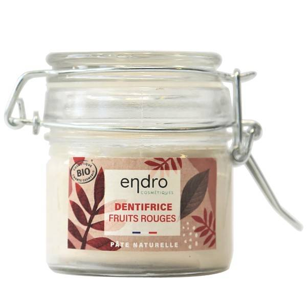 Endro Dentifrice solide Bio 150 gr - Fruits Rouges
