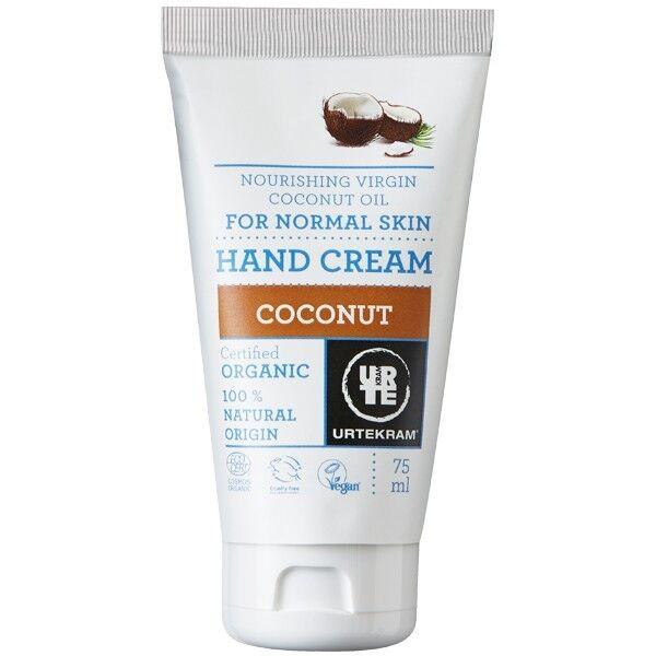 Urtekram Crème mains Nourrissante 75ml - Noix de coco