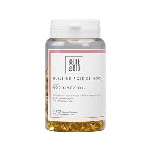 Belle et Bio Huile de Foie de Morue 120 capsules - Source de vitamine - Publicité