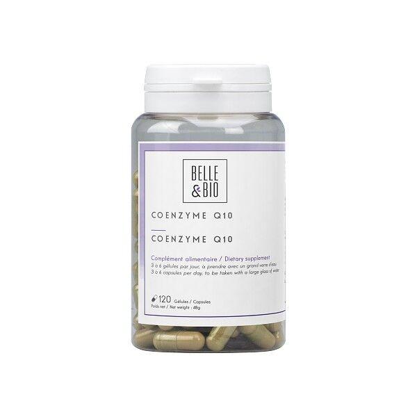 Belle et Bio Co Enzyme Q10 120 gélules - Bien-être cardiovasculaire et immunitaire
