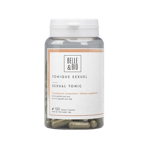 Belle et Bio Tonique Sexuel à base de Tribulus Terrestris 120 Gélules - Performances