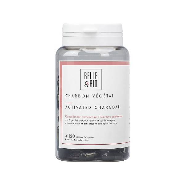 Belle et Bio Charbon Végétal Activé 120 gélules