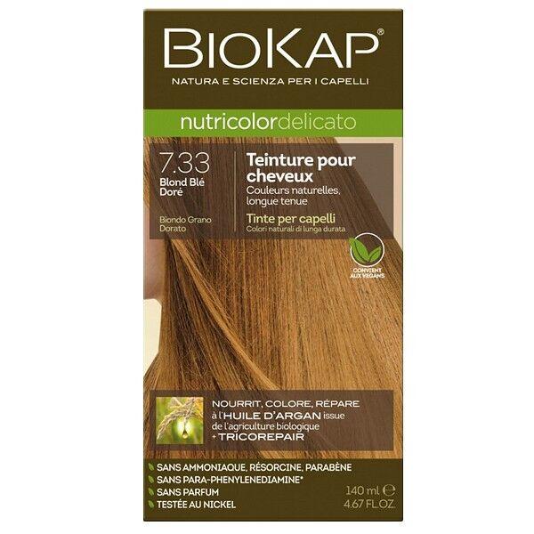 Biokap Coloration 7.33 Blond Blé Doré - Delicato