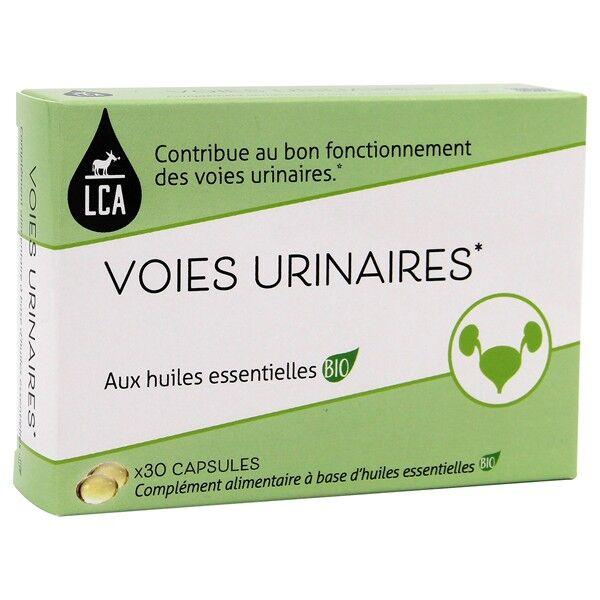 LCA - Combe d'Ase Capsules d'huiles essentielles Bio  - Confort Voies urinaires
