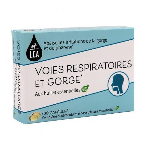 LCA - Combe d'Ase Capsules d'huiles essentielles Bio - Voies respiratoires et Gorge