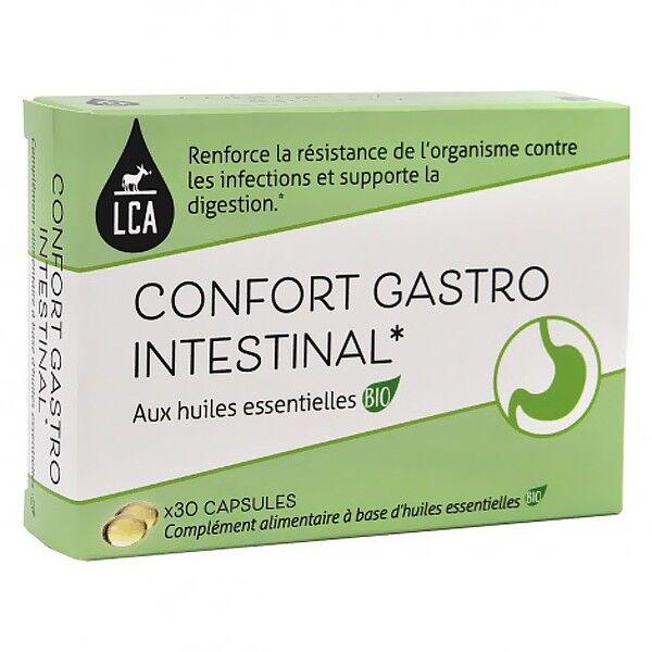 LCA - Combe d'Ase Capsules d'huiles essentielles Bio - Confort Gastro Intestinal