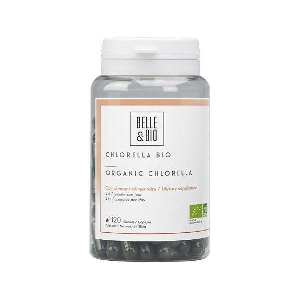 Belle et Bio Chlorella Bio 120 gélules - Action détoxifiante