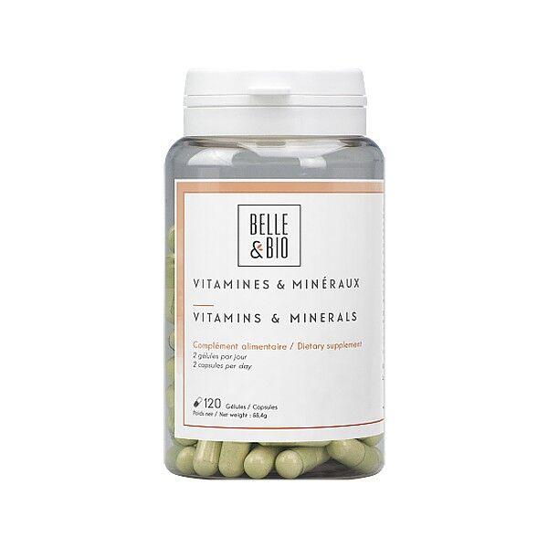 Belle et Bio Complexe Vitamines et Minéraux - 120 gélules