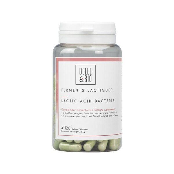 Belle et Bio Ferments lactiques 10 souches - 120 gélules