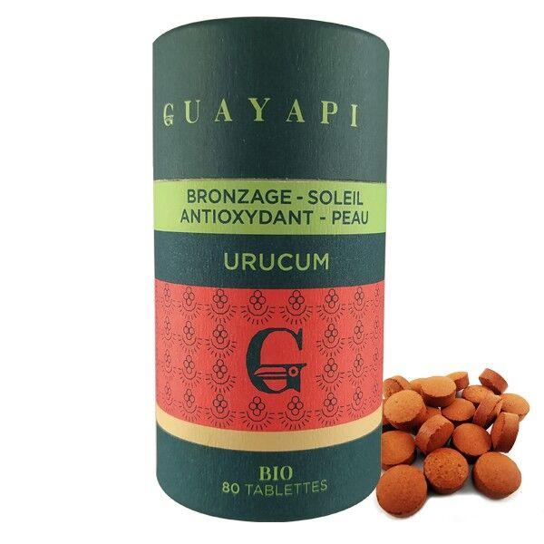 Guayapi Poudre d'Urucum (Bixa Orellana) 80 Tablettes - Antioxydant