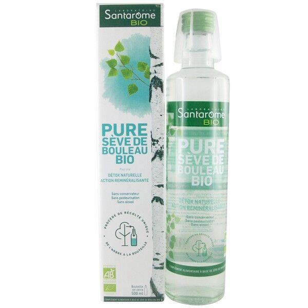 Laboratoire Santarome Bio Pure Sève de Bouleau Bio Fraîche 500ml - Détox naturelle