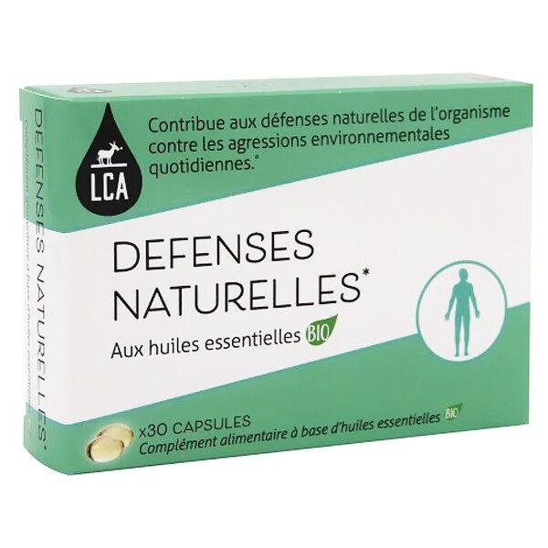 LCA - Combe d'Ase Capsules d'huiles essentielles Bio - Défenses Naturelles
