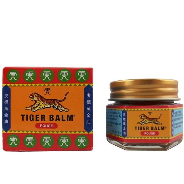 Tiger Balm (Baume du Tigre) Baume Chinois (Baume du Tigre) Rouge - Extra-fort