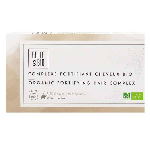 Belle et Bio Complexe de plantes Bio60 Gélules - Fortifiant Cheveux