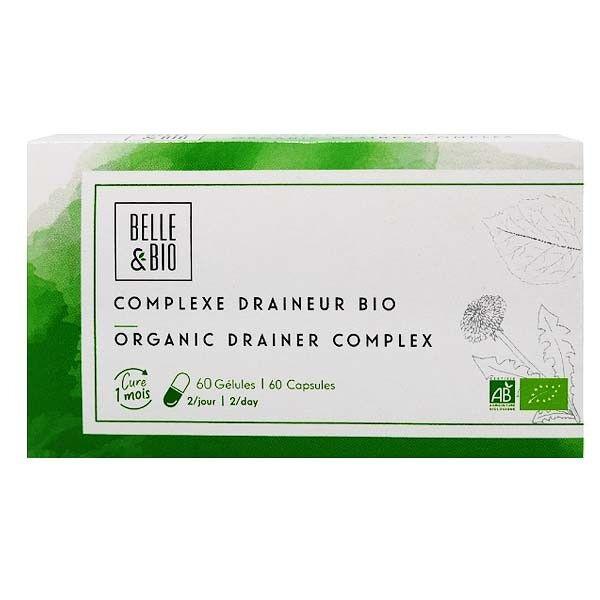 Belle et Bio Complexe de plantes Bio60 Gélules - Élimination des toxines