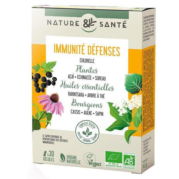 Nature & Santé Synergie Végétale Immunité Défenses 30 gélules