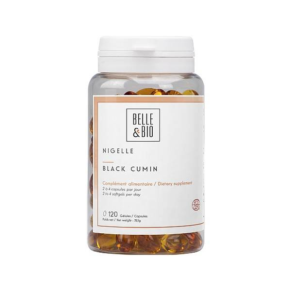 Belle et Bio Huile de nigelle bio 120 capsules