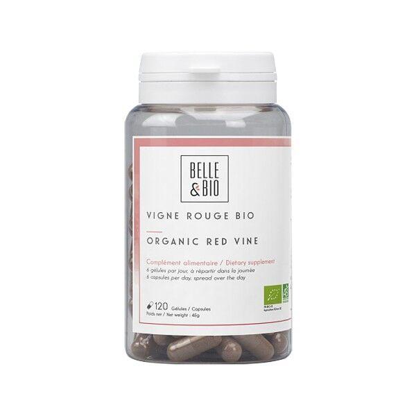 Belle et Bio Vigne rouge Bio 120 gélules - Circulation