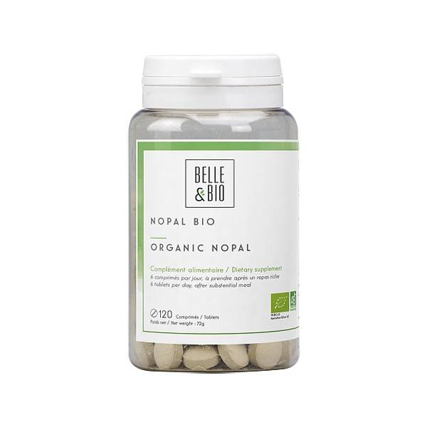 Belle et Bio Nopal Bio 120 comprimés - Efficacité minceur