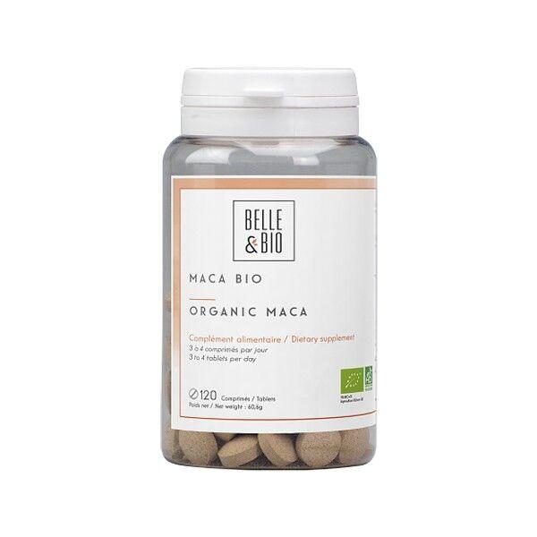 Belle et Bio Maca Bio 120 comprimés - Vitalité, tonus et sexualité