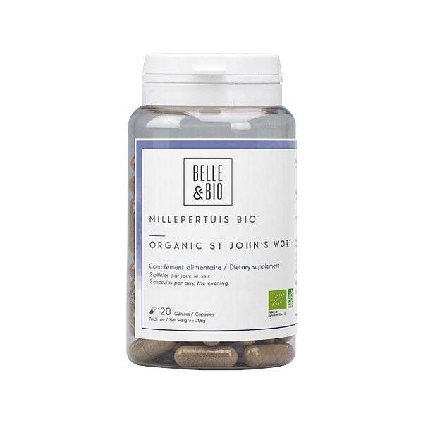 Belle et Bio Millepertuis Bio 120 gélules - Booste le moral