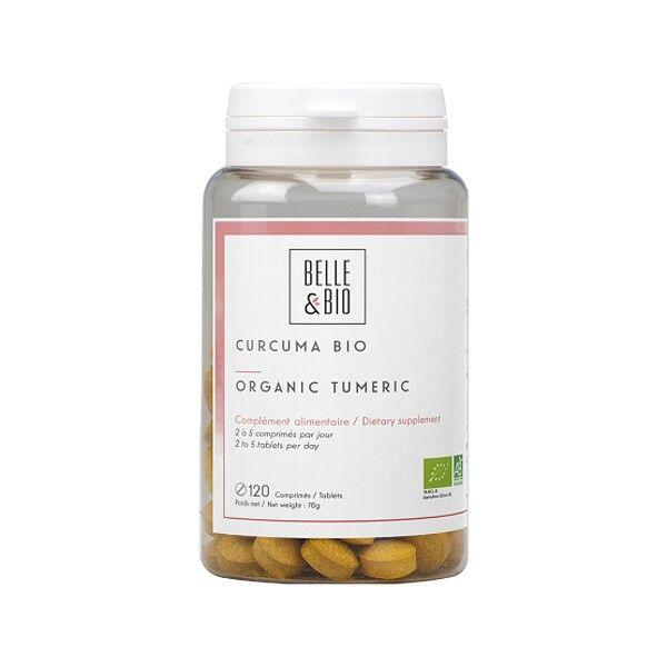 Belle et Bio Curcuma Pipérine Bio 120 comprimés
